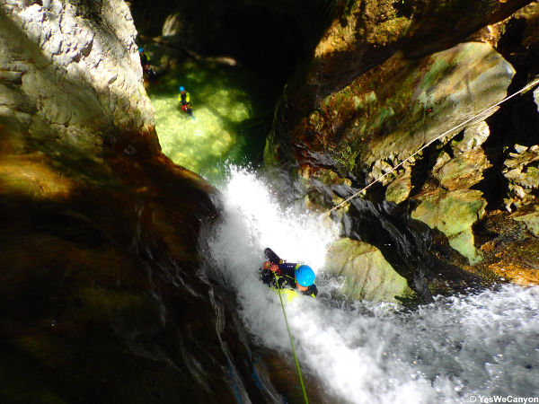 Canyon Ecouges partie basse